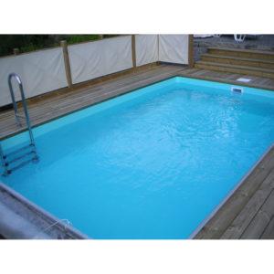 Swimmingpool rektangulär